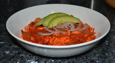 Vegan Tofusito Pibil.  For this amazing recipe: http://veggiechica.com/2014/03/15/tofusito-pibil/