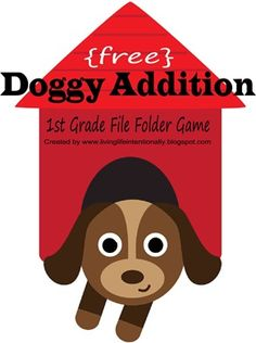 Math: Free Doggy Addition Math Game | Free Homeschool Deals ©