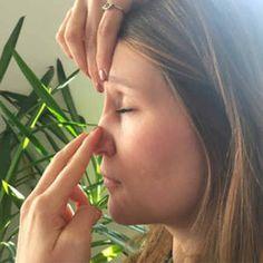 Nase frei in 1 Minute: Mit diesem Griff klappt es