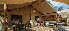De Safaritent Select, een topaccommodatie voor het hele gezin!  - luxe tent, glamping, camping, luxe kamperen, www.glamping.nl