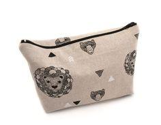 Personnalisé Rose Hibou porte-monnaie ou trousse lin mot /& design cadeau de Choice