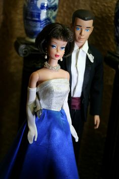 Vintage Barbie and ken