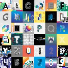 36 Days of Type 2017 on Behance