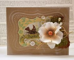 Very pretty card by Julia Stainton!  Love it!