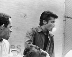 George Chakiris during filming of West Side Story (1961)