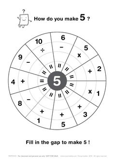 Free Printable Math Worksheets count by 5s … | k math center ...