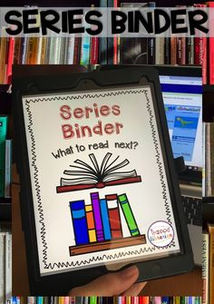 Help Your Students Find Book Series They Will Love! School Library Lessons, School Library Displays, Elementary School Library, Library Skills, Library Books, Elementary Schools, Library Ideas, Library Organization, Binder Organization