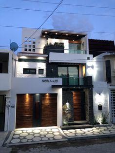 Exterior Home Modern Entrance 38 Ideas House Front Design, Small House Design, Modern House Design, House Architecture Styles, Modern Architecture, Modern Exterior, Exterior Design, Luxury Home Accessories, Modern Entrance