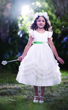 Disney's Fairy Tale Weddings by Alfred Angelo Tiana flower girl dress, Style 721 #wedding #flower #girl