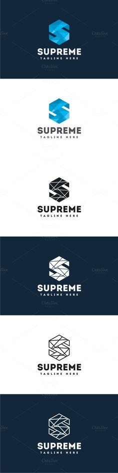 Supreme - Letter S Logo. Logo Templates. $30.00
