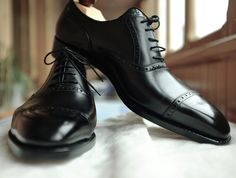 Old English U-Last Oxfords by Vass