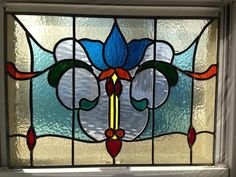 Antique Stained Glass Windows, Stained Glass Flowers, Stained Glass Lamps, Stained Glass Designs, Stained Glass Panels, Stained Glass Projects, Stained Glass Patterns, Leaded Glass, Mosaic Glass