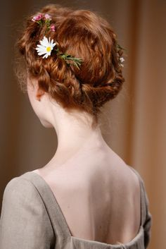 Valentino Spring 2015 Couture Hair - Hairdresser Guido Palau