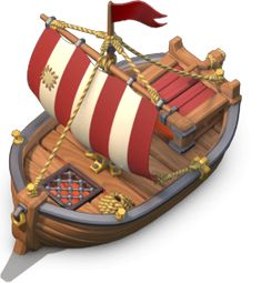 Clash Of Clans, Clan Castle, Barbarian King, Dark Spells, Giant Bomb, Base Building, Clash Royale, Wooden Boats, Games