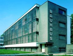 Walter Gropius designed this architectural icon. The design still stands strong today.   - Dean