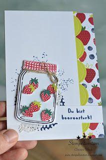 Ein Kreativer-Blog in dem handgefertigte Karten, kleine Geschenke und sonstige Papierarbeiten mit Stampin' Up Produkten gezeigt werden.