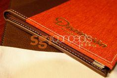 cubiertas de menu combinadas con papeles vinilicos Muresco