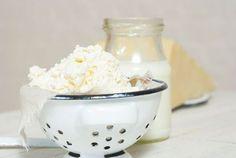 Ako si vyrobiť domáci syr z jogurtu + VIDEO To Do This Weekend, Activities To Do, Ricotta, Ice Cream, Sugar, Homemade, Fruit, Ethnic Recipes, Desserts