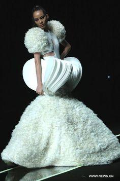 Hao Jia's creations at China Fashion Week