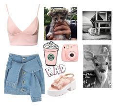 """""""Untitled #419"""" by juliateodora ❤ liked on Polyvore featuring Dark Pink and Fuji"""