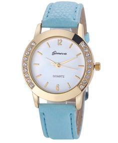 Sky Blue Faux Leather Strap - Women's Wristwatch #skyblue #fauxleather #leather #wristwatch #watch #women #womensfashion http://m.ebay.co.uk/itm/White-Turquoise-Blue-Faux-Leather-Strap-Crystal-Design-Women-Wrist-Watch-Xmas-/282079100863?nav=SELLING_ACTIVE&skus=Strap%20Colour:Sky%20Blue&varId=581048405096