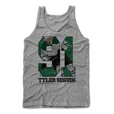 Tyler Sequin Game G Dallas Officially Licensed NHLPA Male Tank Top S-XL