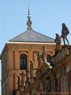 Palacio de San Telmo, Calle Palos de la Frontera, Sevilla, Espanha