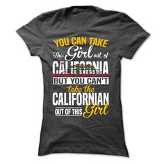 Proud California Girl T-Shirts, Hoodies. VIEW DETAIL ==► https://www.sunfrog.com/LifeStyle/Proud-california-Girl-Ladies.html?id=41382