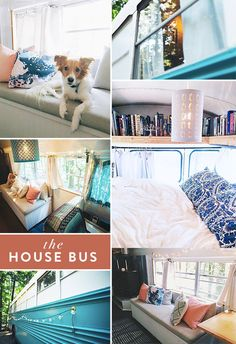 the wheels on the house bus go round and round. / sfgirlbybay