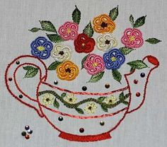 "Brazilian embroidery is not limited in the stitches used, or to stitches that are ""Brazilian."" The use of an array of stitches borrowed from many needle arts, combined with rayon twisted thread in various sizes, dealing fine growth was popularized in Brazil, and this is why this particular style of embroidery is called ""Brazilian"" embroidery."""