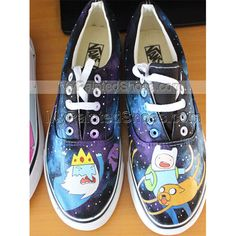 20 Best adventure time sneakers images   Painted canvas shoes ... a78d9cb442d