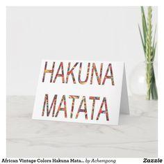 Lion King Names, Christmas Card Holders, Christmas Cards, Cute Office, Hakuna Matata, Plant Design, Retro Art, Holiday Photos, Custom Greeting Cards