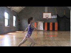 Baton twirling Flip illusion