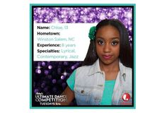 Abby's Ultimate Dance Competition Season 2 Contestant Dance Cards