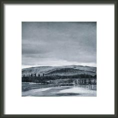 Land Shapes 11 Framed Print By Priska WettsteinWettsteinThis series is work in progress, I want to show the serenity, the unforgivness, the beauty of this landscape, where humans are only tolerated, not accepted.