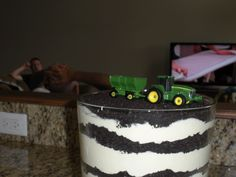 john deere dirt cake