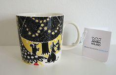 Arabia Finland World Design Capital Helsinki 2012 Moomin mug Hurray! / Hurraa!