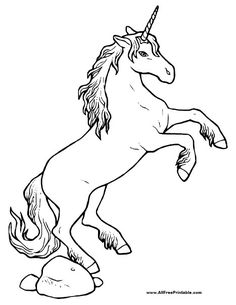 funny finished coloring book pages | Unicorn Head Coloring Pages – GetColoringPages.org | party ...