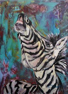 African wildlife - Acryl auf Leinwand 60 x 80 cm