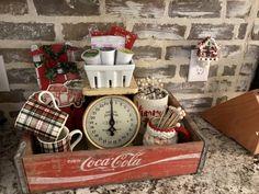 Christmas coffee station #christmas #christmasdecor #coffee