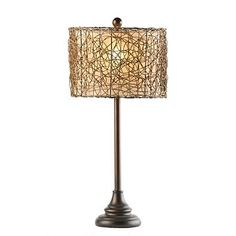 just bought this lamp...love the texture.