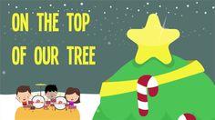 Twinkle, Twinkle, Christmas Star!  Christmas song for kids.  #christmasforkids #preschool