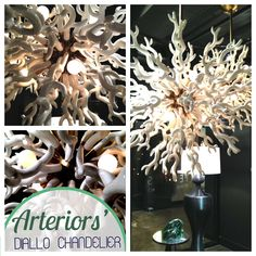 """Arteriors The """"Diallo Chandelier"""" Best Interior Design, Luxury Interior, Cool Picks, High Point Market, Let Your Light Shine, Design Inspiration, Design Ideas, Outdoor Light Fixtures, Natural Cleaning Products"""