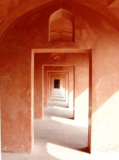 Care to weave your way through one of India's sandstone mausoleums? You may need a map.