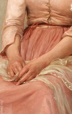 Dreams (Detail) ~ Ellen Montalba ~ (English: 1842-1902)