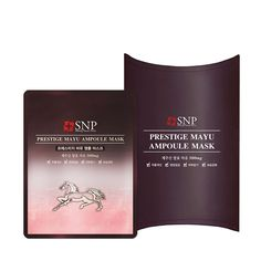 SNP Prestige Mayu Horse Fat Ampoule Facial Mask Pack 10SHEETS All Skin Types | eBay