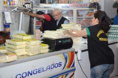 Taís Paranhos: Apreensão de comida clandestina no Mercado de Afog...