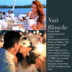 Moët Ice Impérial joined Dîner en Blanc as the event's official champagne partner for five cities nationwide, with last night's event being its official introduction to the DC market.