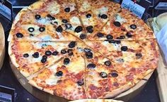 Delicious #Pizza being served by the slice, Call and collect your order now. @britainsocean #sliceapizza