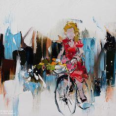 """Kimberly Kiel - """" La bicyclette """""""